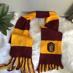 Harry Potter Gryffindor Fringe Scarf